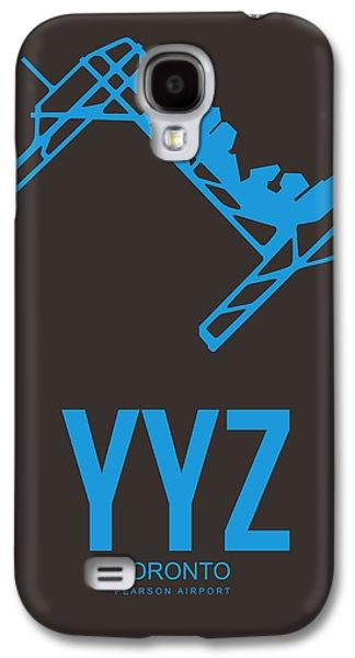 Yyz Toronto Airport Poster 2 Galaxy S4 Case