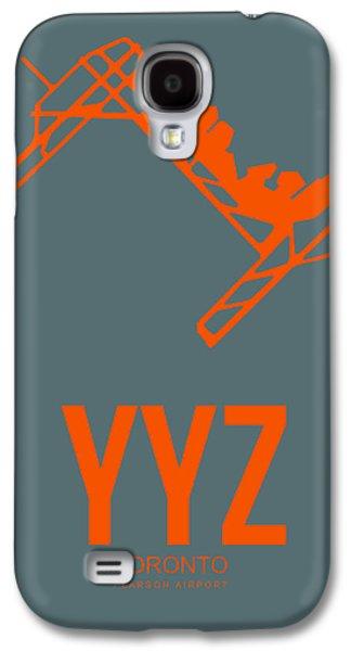 Yyz Toronto Airport Poster Galaxy S4 Case