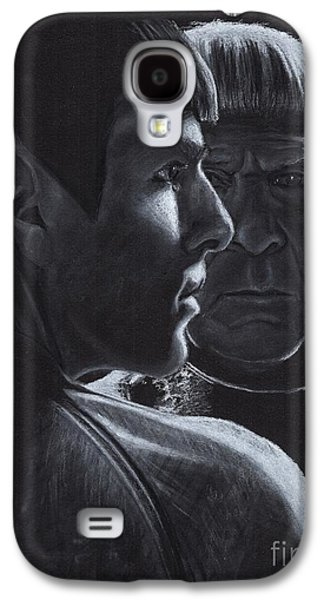 Zachary Quinto And Leonard Nimoy Galaxy S4 Case