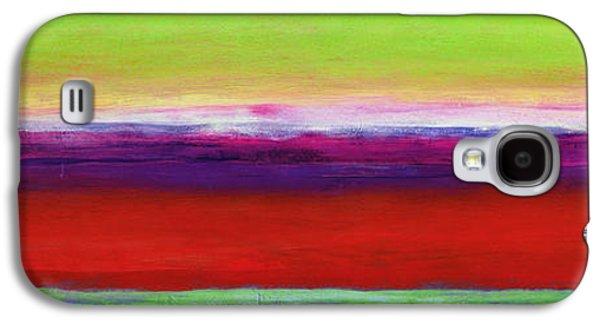 Colored Galaxy S4 Case - Zanja by Lou Gibbs