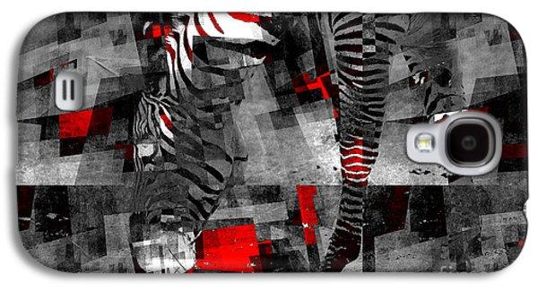 Zebra Art - 56a Galaxy S4 Case