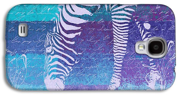 Zebra Art - Bp02t01 Galaxy S4 Case by Variance Collections