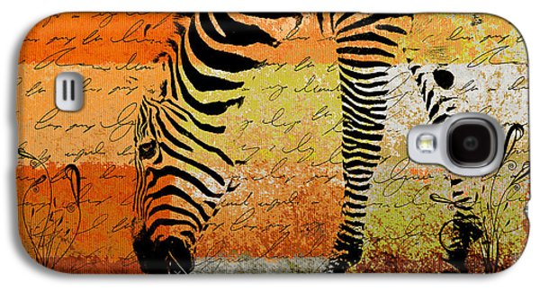 Zebra Art - Rng02t01 Galaxy S4 Case