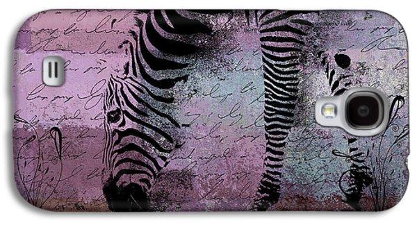 Zebra Art - Sc01 Galaxy S4 Case