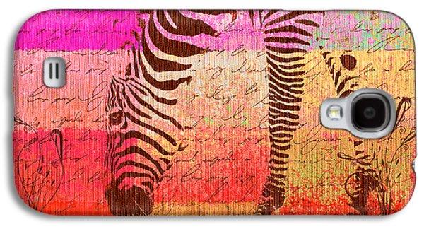 Zebra Art - T1cv2blinb Galaxy S4 Case