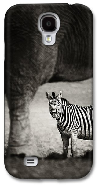 Zebra Barking Galaxy S4 Case