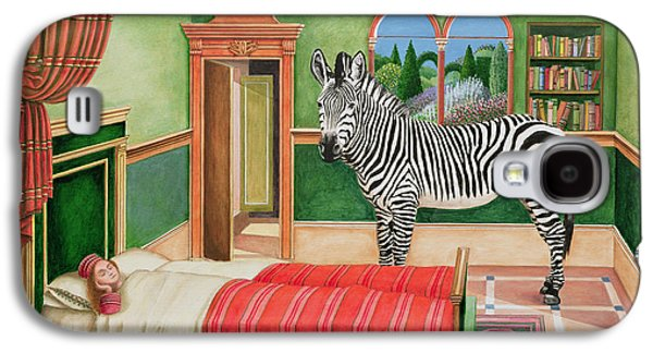 Zebra In A Bedroom, 1996 Galaxy S4 Case by Anthony Southcombe