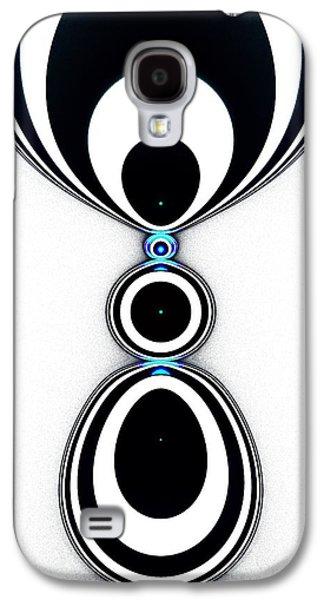 Zebra Jewels Galaxy S4 Case by Anastasiya Malakhova