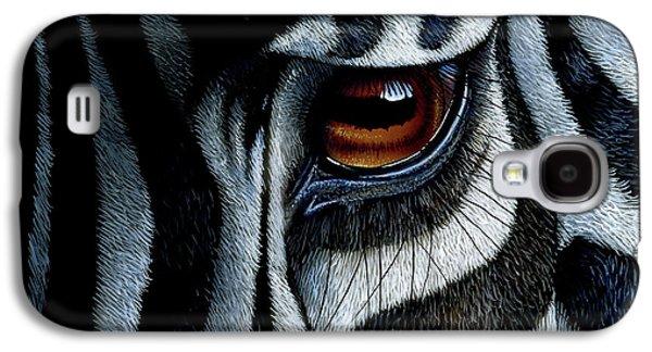 Zebra Galaxy S4 Case by Jurek Zamoyski