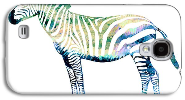 Zebra  Galaxy S4 Case by Lyubomir Kanelov