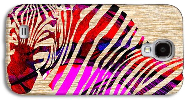 Zebra Galaxy S4 Case by Marvin Blaine