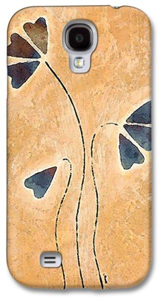 Zen Splendor - Dragonfly Art By Sharon Cummings. Galaxy S4 Case by Sharon Cummings