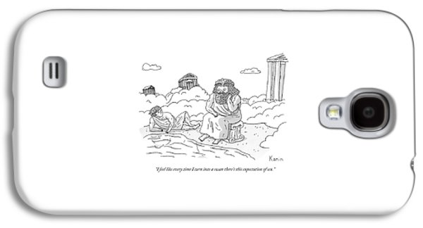 Zeus Speaks Gloomily To Hermes By A Pond Galaxy S4 Case