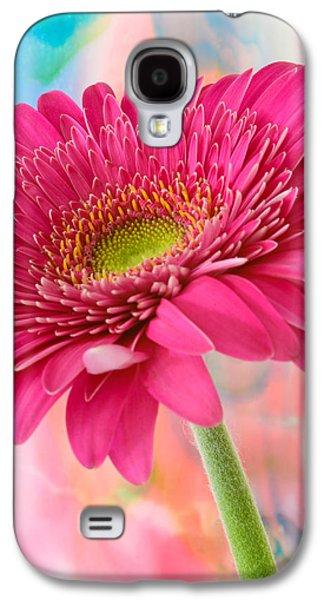 Gerbera Daisy Abstract Galaxy S4 Case