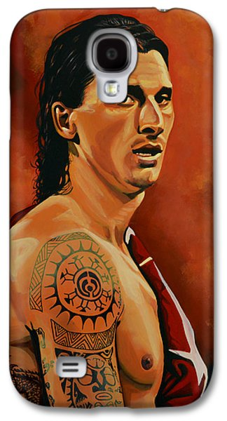 Zlatan Ibrahimovic Painting Galaxy S4 Case