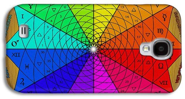 Zodiac Color Star Galaxy S4 Case