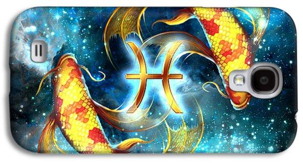 Constellations Galaxy S4 Case - Zodiac Pisces by Ciro Marchetti