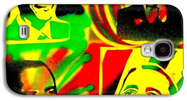 4 Rasta Obama Galaxy S4 Case by Tony B Conscious
