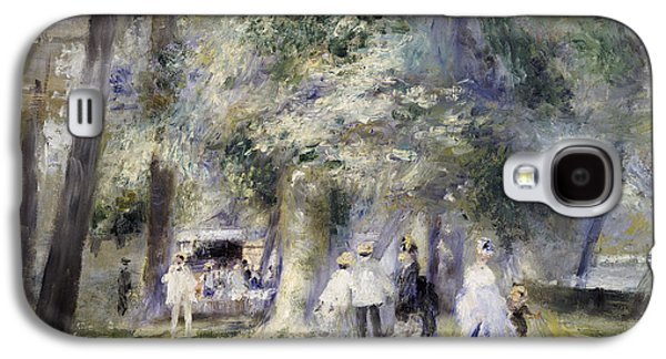 In The Park At Saint-cloud Galaxy S4 Case by Pierre Auguste Renoir