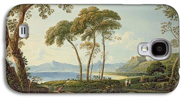 Landscape With Harlech Castle Galaxy S4 Case by John Varley