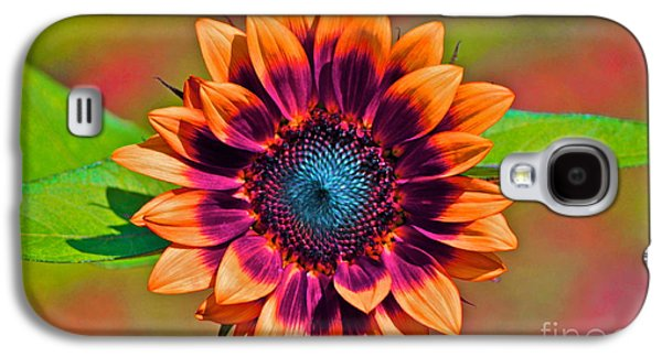 Orange Flowers In Their Buttonholes Galaxy S4 Case