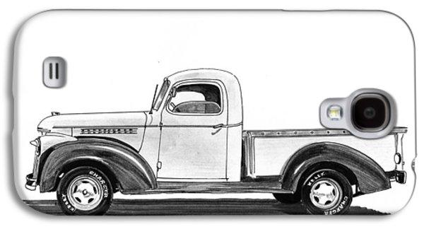 1946 Chevrolet Pick Up Galaxy S4 Case by Jack Pumphrey