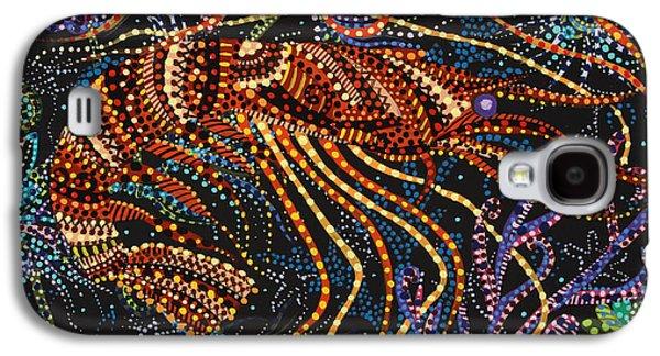 A Shrimp Galaxy S4 Case by Erika Pochybova