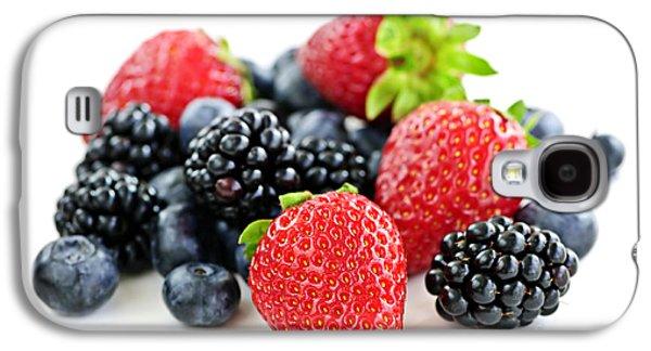 Assorted Fresh Berries Galaxy S4 Case by Elena Elisseeva