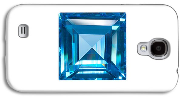 Blue Sapphire Isolated Galaxy S4 Case