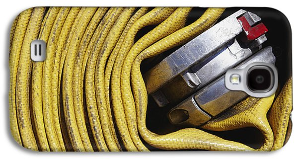 Coiled Fire Hose Galaxy S4 Case by Skip Nall