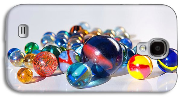 Colorful Marbles Galaxy S4 Case
