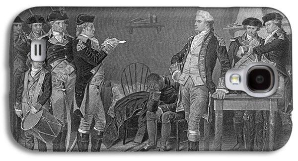 Death Warrant Of Major John Andre, 1780 Galaxy S4 Case