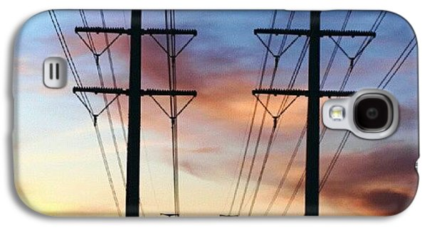 Iger Galaxy S4 Case - Electric Sunset by James Granberry