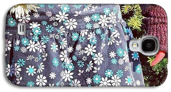 Cool Galaxy S4 Case - Fashion And Nature - Floral Skirt by Matthias Hauser