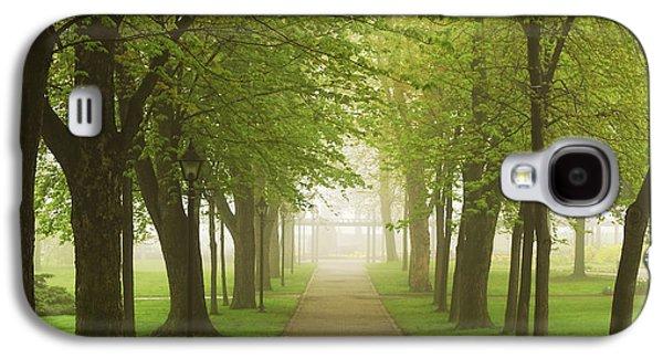 Foggy Park Galaxy S4 Case by Elena Elisseeva