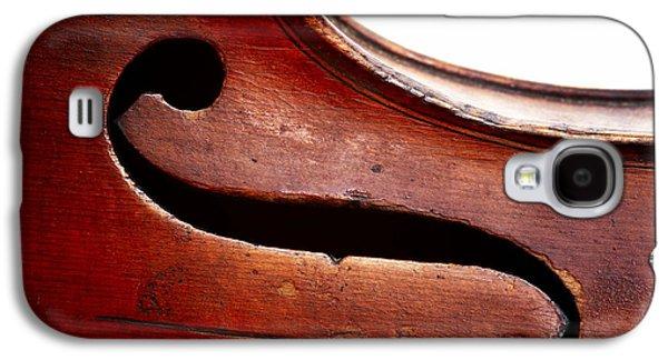 Violin Galaxy S4 Case - G Clef by Michal Boubin