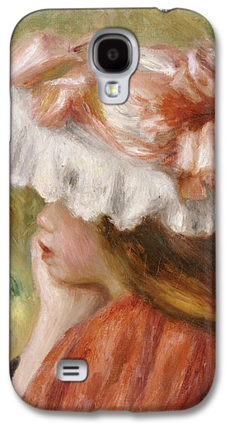 Head Of A Young Girl In A Red Hat  Galaxy S4 Case