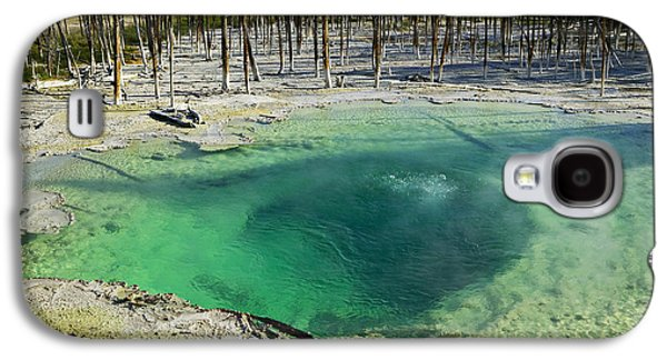 Hot Springs Yellowstone National Park Galaxy S4 Case by Garry Gay