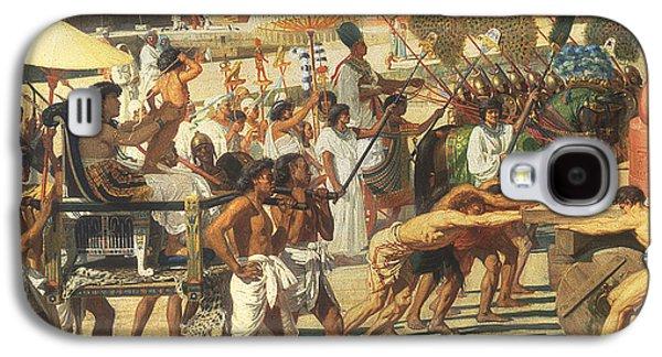 Israel In Egypt Galaxy S4 Case by Sir Edward John Poynter