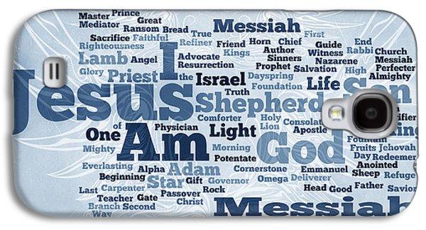 Jesus Messiah 2 Galaxy S4 Case by Angelina Vick