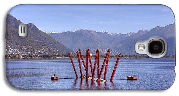 Lake Maggiore Locarno Galaxy S4 Case by Joana Kruse