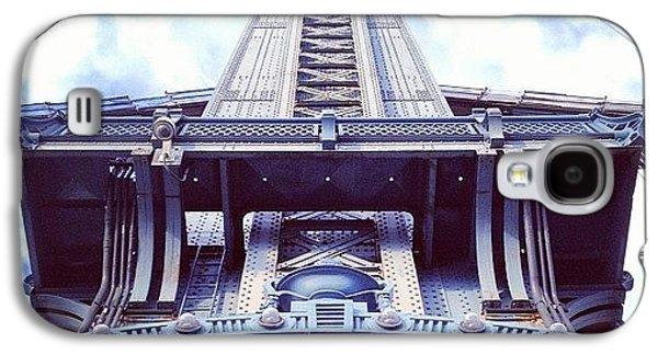 Architecture Galaxy S4 Case - Manhattan Bridge by Randy Lemoine