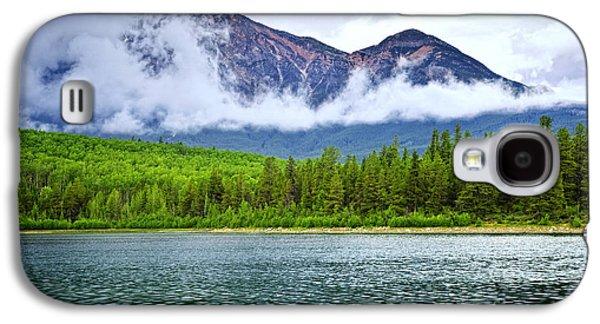 Mountain Lake In Jasper National Park Galaxy S4 Case by Elena Elisseeva