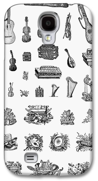 Musical Instruments Galaxy S4 Case by Granger