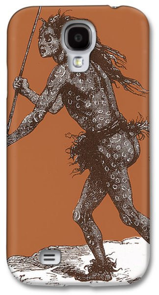 Native American Shaman Galaxy S4 Case
