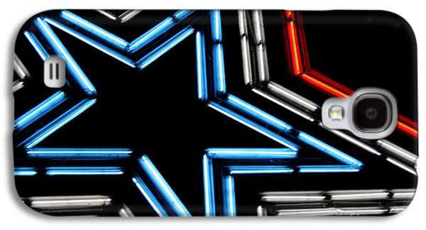 Neon Star Galaxy S4 Case by Darren Fisher