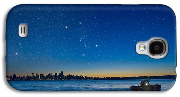 Orion Over Vancouver, Canada Galaxy S4 Case