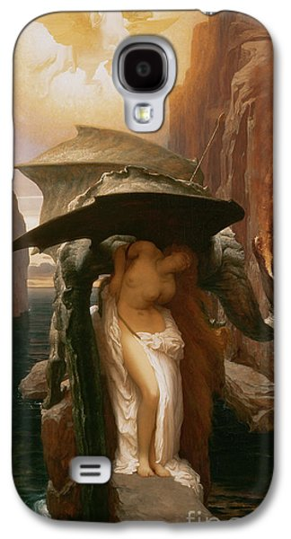 Perseus And Andromeda Galaxy S4 Case by Frederic Leighton