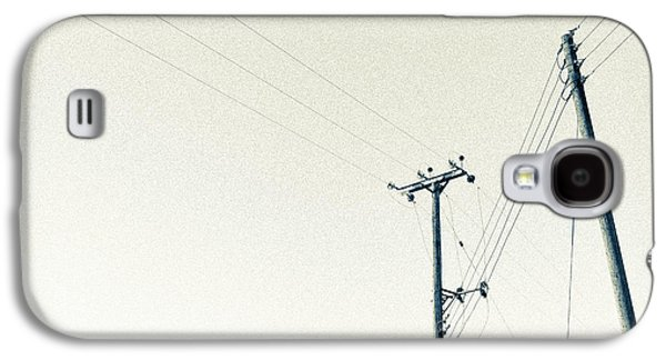 Will Power Photographs Galaxy S4 Cases - Power Lines Galaxy S4 Case by Martyn Williams