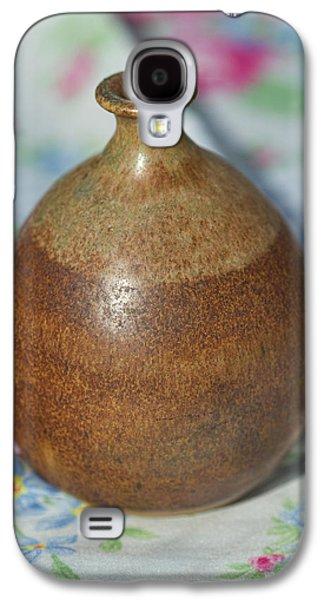 Rare John Regis Tuska Pottery Vase Galaxy S4 Case by Kathy Clark